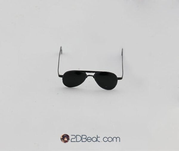 [In-stock] 1/6 Scale Sunglasses Black Glasses for action figure