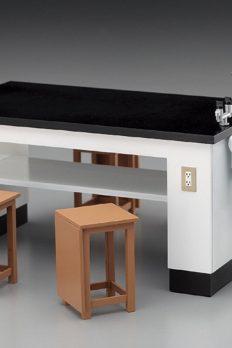 [Có Sẵn] Bộ bàn ghế phòng thí nghiệm 1/12 dành cho figma Hasegawa