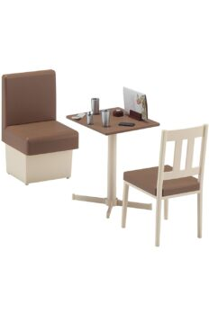 [Có Sẵn] Mô hình bàn ghế phòng ăn HASEGAWA 1/12 dành cho figma