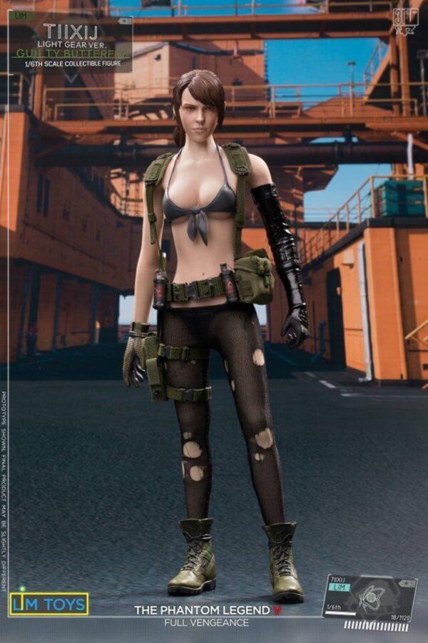 Mô Hình 1/6 LIMTOYS TIIXIJ Quiet Sinful Butterfly Metal Gear Solid (Bản Thường)