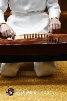 1/6 Scale GuQin Chinese Ancient Musical Instruments For 12'' Action Figure
