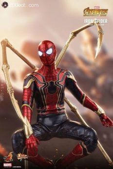 Mô Hình Chính Hãng 1/6 Hot Toys MMS482 Iron Spider - Avengers: Infinity War