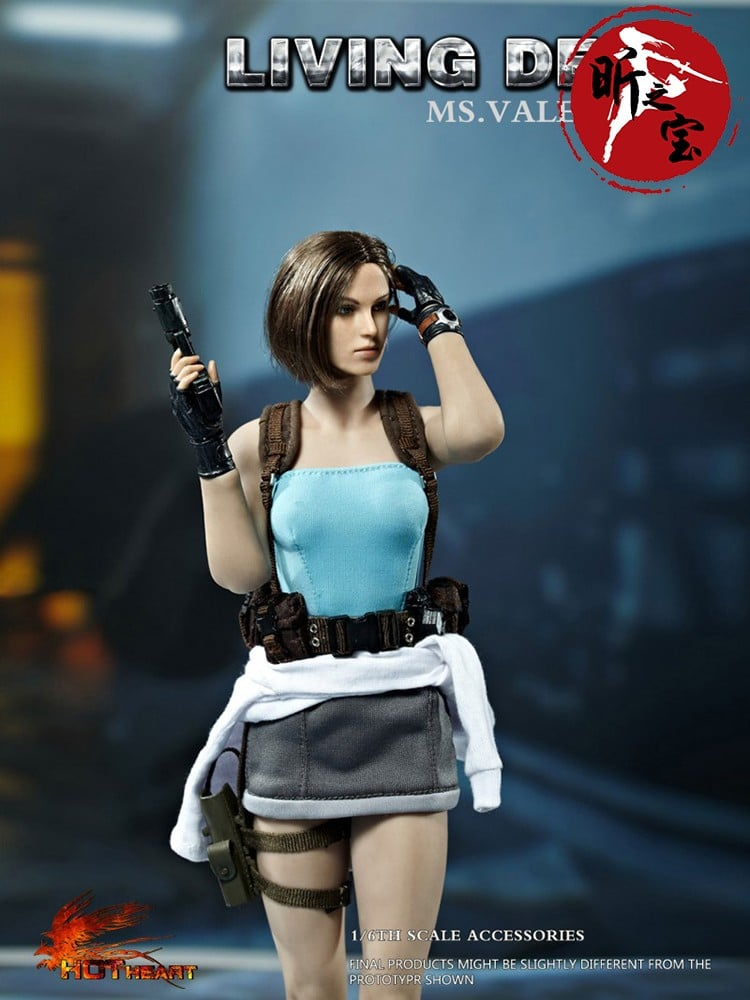 1 6 Scale Jill Valentine Resident Evil Special Colour Version