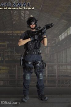 1/6 Scale LAPD SWAT Special Weapon & Tactical Model Action Figure