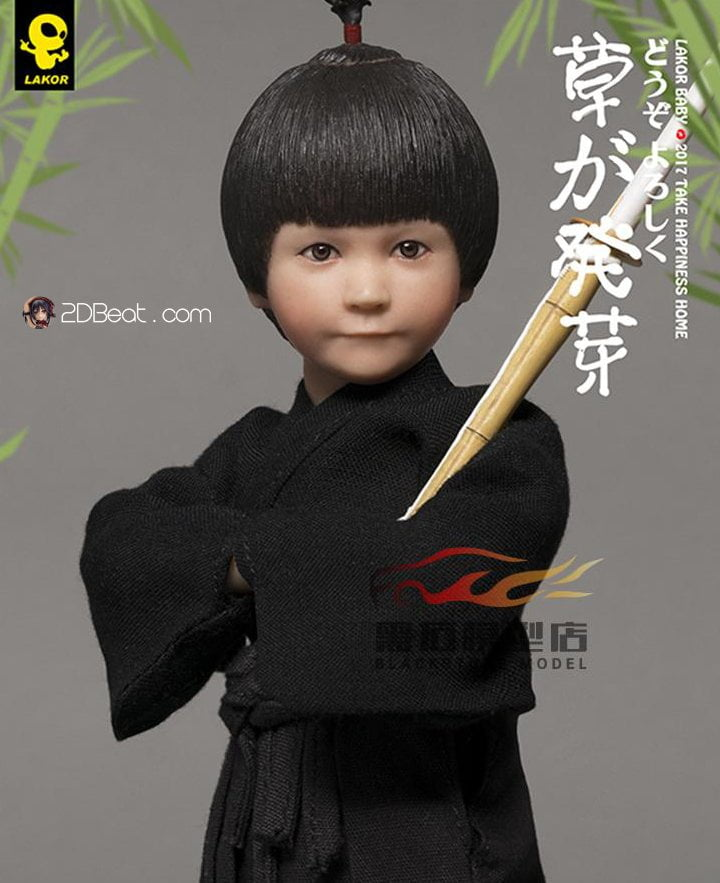 1//6 WorldBox Action Figure Lakor Baby Kendo Boy Figure Toy