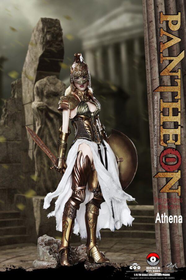 Coomodel X Homer HS001 Panthean Athena Goddess of Wisdom