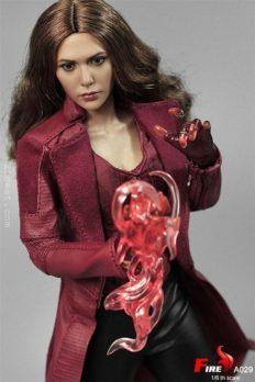 Mô Hình Chính Hãng 1/6 Fire Toys A029 Wanda Scarlet Witch 3.0 Action Figure