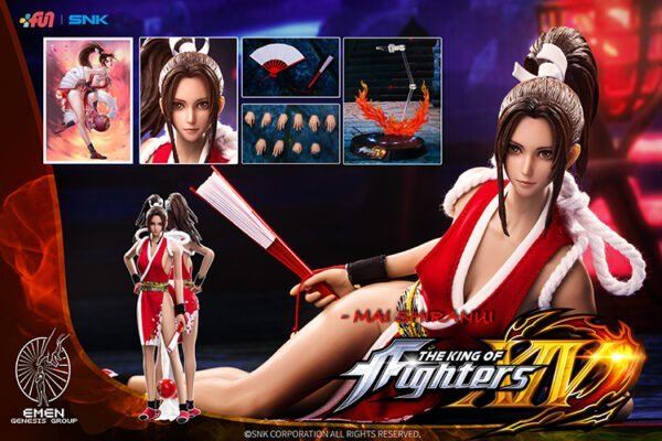 GENESIS MAI SHIRANUI King Of Fighters 1/6 Scale Figure