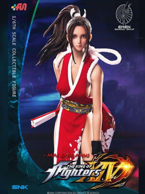 GENESIS MAI SHIRANUI King Of Fighters 1/6 Scale Figure