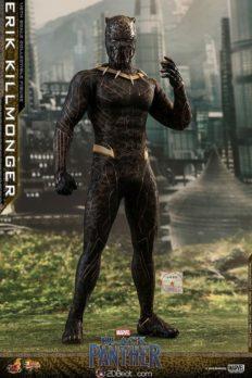 Mô Hình  1/6 Hot Toys Erik Killmonger trong  Black Panther Chính Hãng