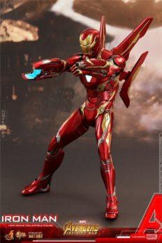 Mô Hình Chính Hãng Hot Toys MMS473D23 Iron Man Mark L - Avengers: Infinity War 1/6