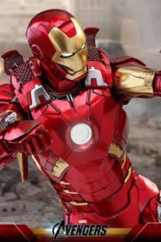 Hot Toys Iron Man Mark VII The Avengers Chính Hãng Tỉ Lệ 1:6
