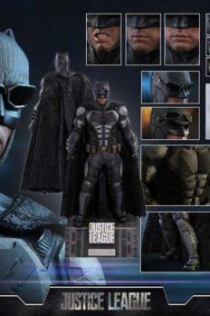 Hot Toys 1/6 MMS432 Batman Justice League Tactical Batsuit Version