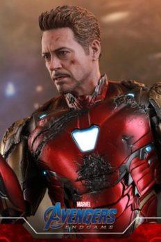 Hot Toys MMS543D33 Iron Man Mark 85 (Battle Damaged Version) Avengers: Endgame