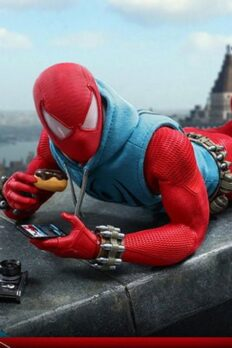 Mô Hình Chính Hãng Hot Toys Marvel's Spider-Man Scarlet Spider Action Figure