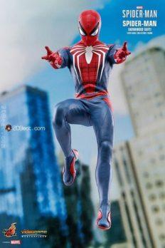 Mô Hình HOT TOYS Chính Hãng Marvel's Spider-Man - Spider-Man (Advanced Suit) 1:6 Scale
