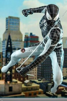 1/6 Scale Hot Toys Spider-Man Negative Suit Exclusive