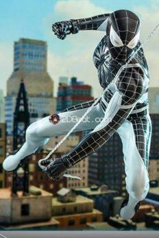 Mô Hình 1/6  Hot Toys Chính Hãng Spider-Man Negative Suit Exclusive