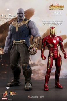 Mô Hình 1/6 Hot Toys THANOS Avengers: Infinity War Action Figure
