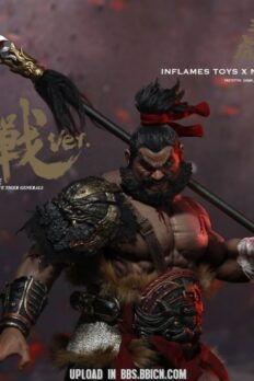 1:6 Scale Inflames Toys Zhang Yide Figure Bloody Battle Ver.
