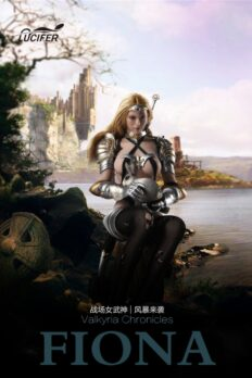 1/6 Lucifer Female Soldier Armor Set Fiona Valkyvia LXF1702 For PHICEN S12D Body