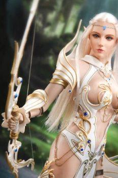1/6 Scale Lucifer Elf Queen Emma Queen Version Action Figure