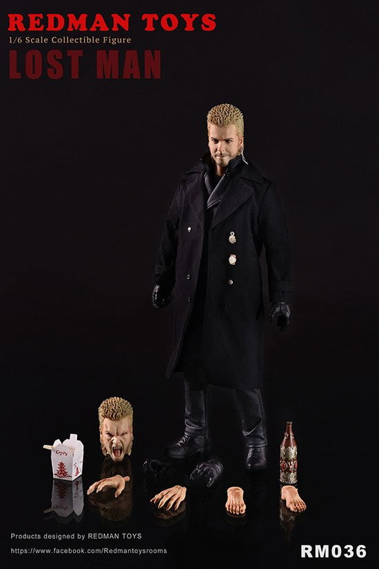 [In-Stock] 1/6 Scale REDMAN TOYS RM036 The Lost Man David