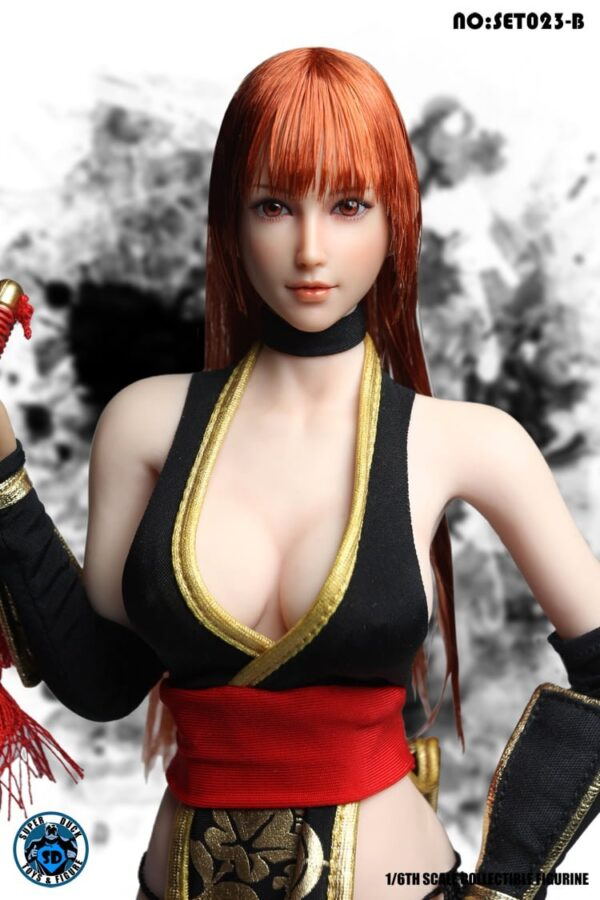 SUPER DUCK SET023 Kasumi DOA: Dead or Alive Cosplay 1/6 Scale