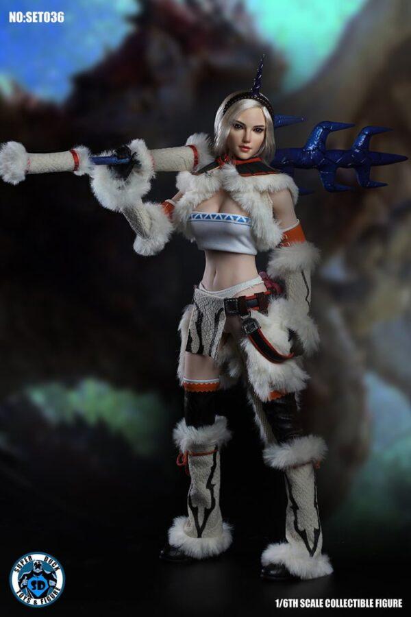 SUPER DUCK SET036 Monster Hunter Kirin Girl Cosplay 1/6 Scale