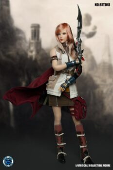 SUPER DUCK SET041: Lightning from Final Fantasy XIII FullSet + TBLeague Phicen S10D