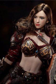 1/6 Scale TBLeague Phicen PL2020-16 Viking Woman Action Figure