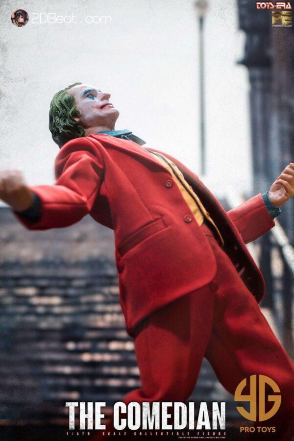 TOYS ERA The Comedian JOKER Joaquin Phoenix DC 1/6 Scale