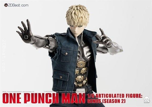 Mô Hình 1/6 Threezero 3A GENOS One Punch Man Season 2 bản cao cấp