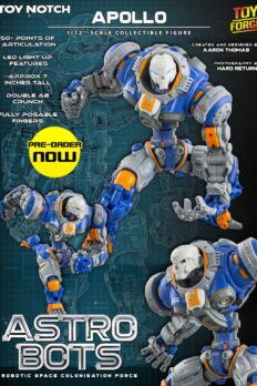1/12 Scale Toy Notch Astrobots A01 Apollo