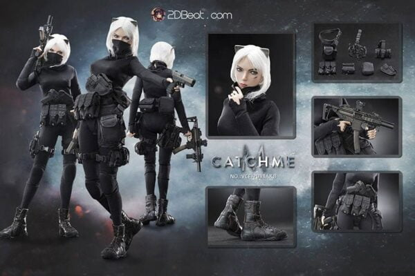 [Pre-Owned] 1/6 VERYCOOL VCF-2033B Catch Me Female Assassin / Headsculpt with Scar