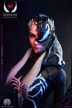 1/6 Scale War Story WS006B She-Venom Queen of the Dark Spider Deluxe Version