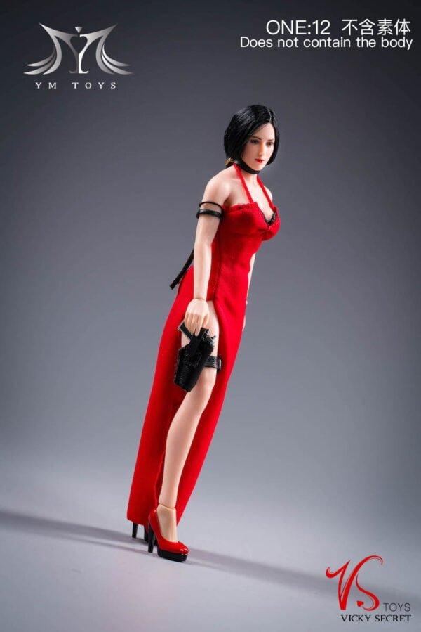 YMTOYS +VSTOYS YMT028 Ada Wong 1/12 Resident Evil