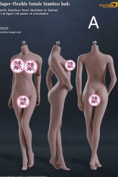 Body TBleague PHICEN 1/6 Sutan: S06B S09C S02A S12D S17B S19B S21B S23B
