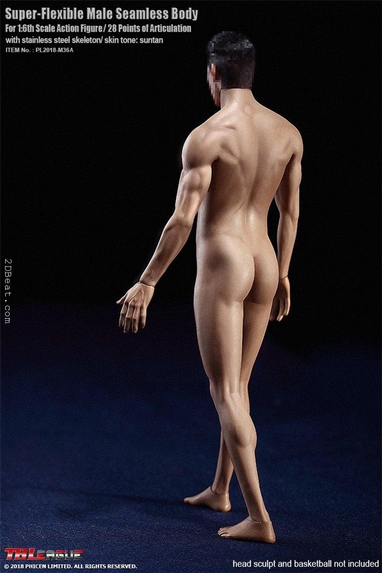 TBLeague Phicen PL2018-M36A 1//6 Suntan Skin Muscle Figure Body Seamless Doll