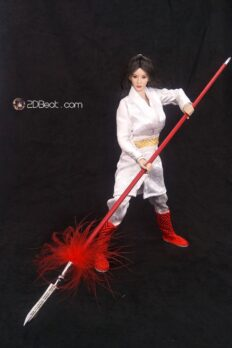 1/6 Ancient Chinese Girl White Dragon Dress JPAA109