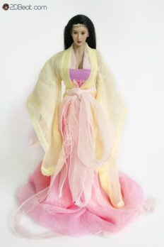 1/6 Scale Ancient Chinese Female Clothing Set JPAA103