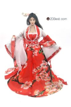 1/6 Scale Ancient Chinese Female Dress JPAA099 for Phicen, Jiaoudoll