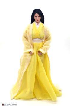 1/6 Scale Ancient Chinese Female Yellow Dress JPAA104
