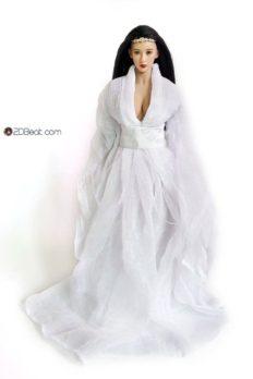 Phụ kiện1/6 Trang Phục Cổ Trang Nữ JPAA105 màu trắng