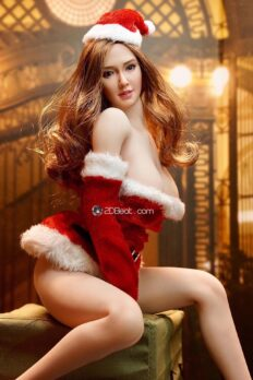 1:6 Scale Female Sexy Christmas Suit Clothes Clothing Set For 12