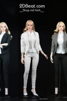 AFS TOYS A012 Women's Slim Suit 1/6 Scale