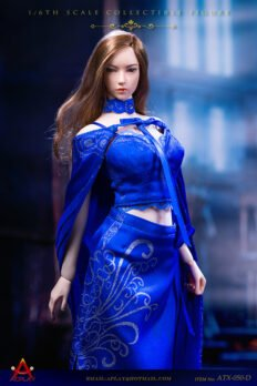ACPLAY 1/6 ATX050-BLUE Queen Style Long Dress