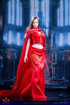 ACPLAY 1/6 ATX050-RED Queen Style Long Dress