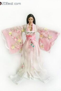 1/6 Scale Ancient Chinese Female Costumes Handmade Set