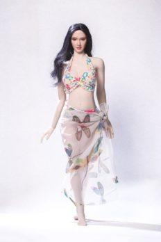 Brazilian Style Bikini Three-Piece 1/6 Scale